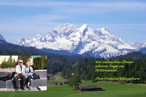 Grüß Gott in Mittenwald,