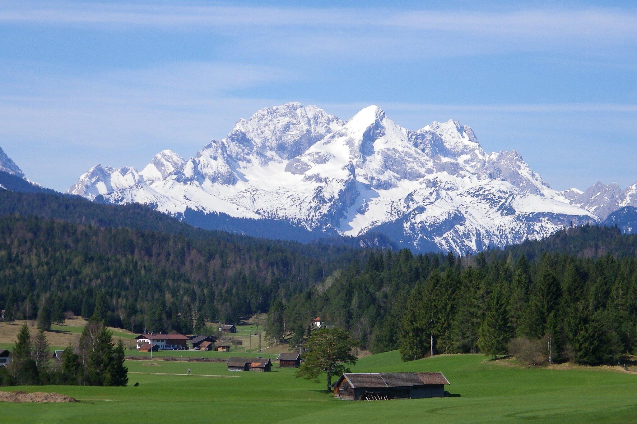 Landschaft um Mittenwald