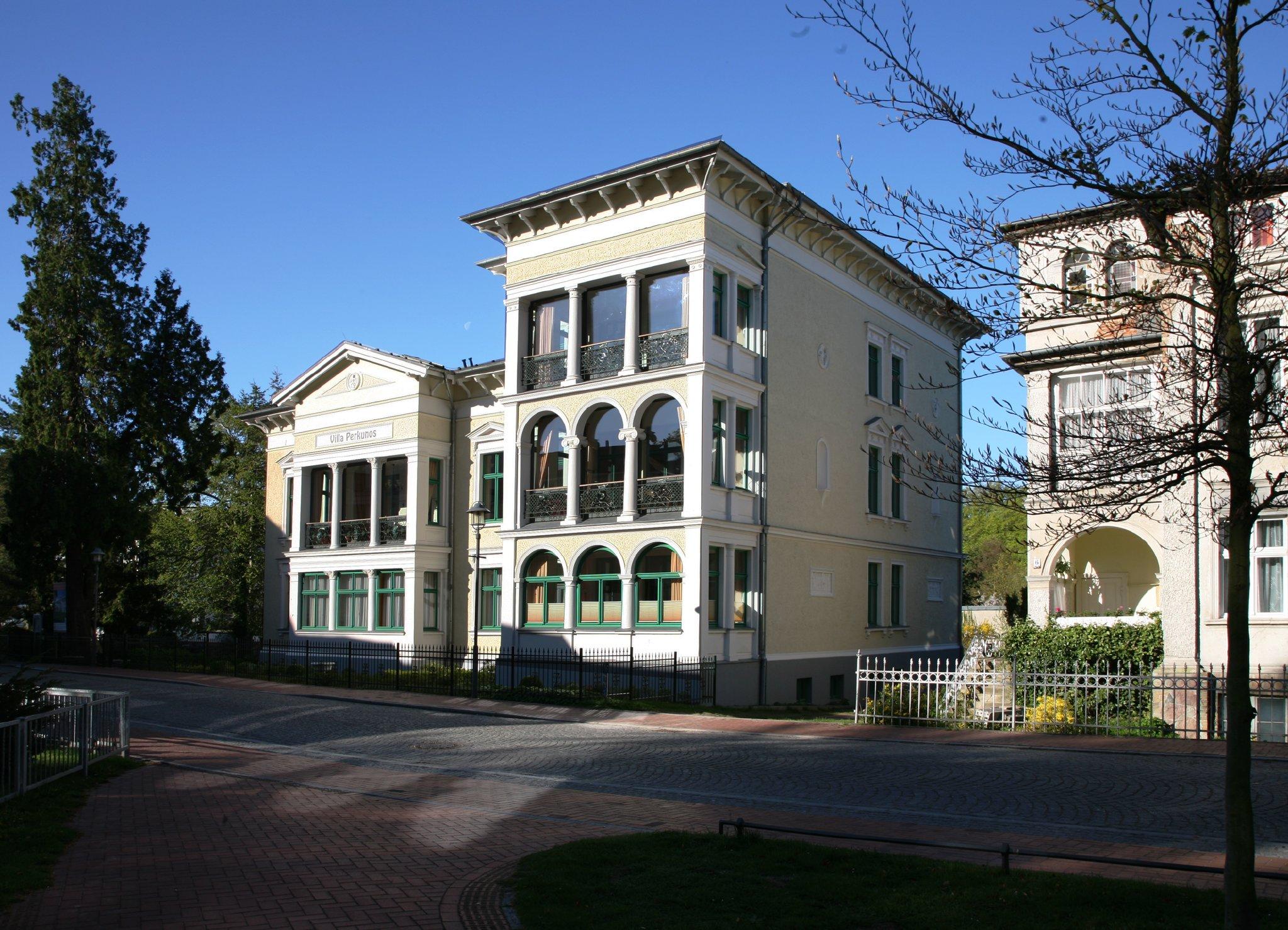 Die Villa Perkunos in Heringsdorf