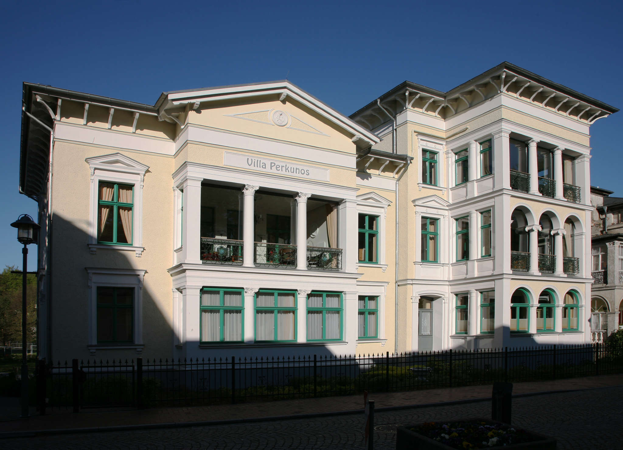Sitzecke Wohnung Nr. 8 Villa Perkunos