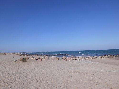 Strand von Sch�nhagen Richtung Olpenitz