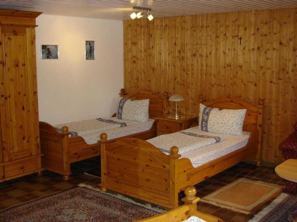 Ferienwohnung Springer, Dreibettzimmer mit Etagenb