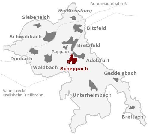Nachbarorte und S-Bahn-Anschluss