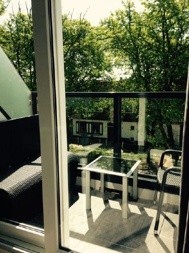 Balkon auf der Sonnenseite