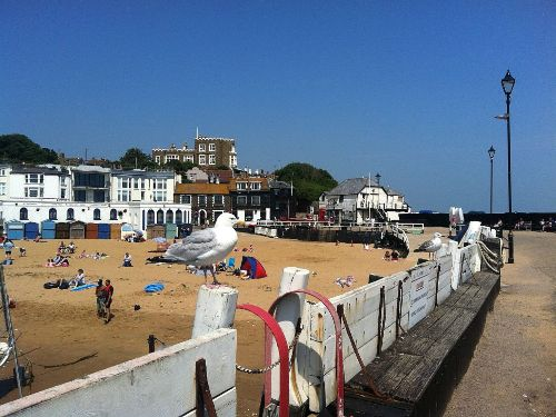 Hausstrand von Broadstairs