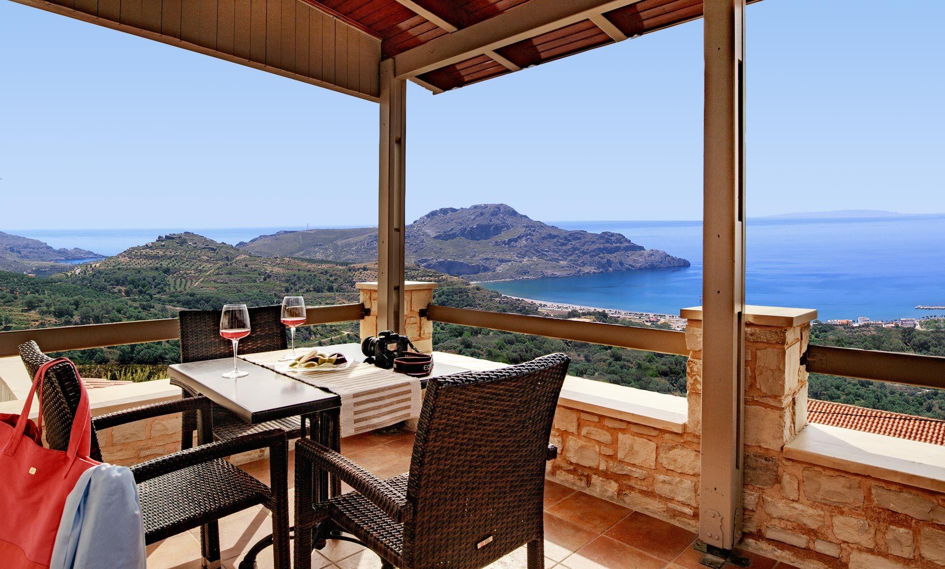 Tolle Aussicht auf die Bucht von Plakias