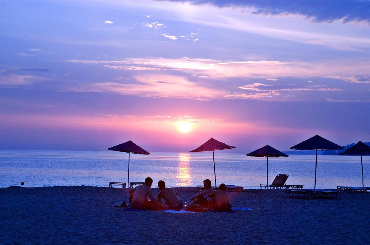 Die erstaunliche Strand von Plakias
