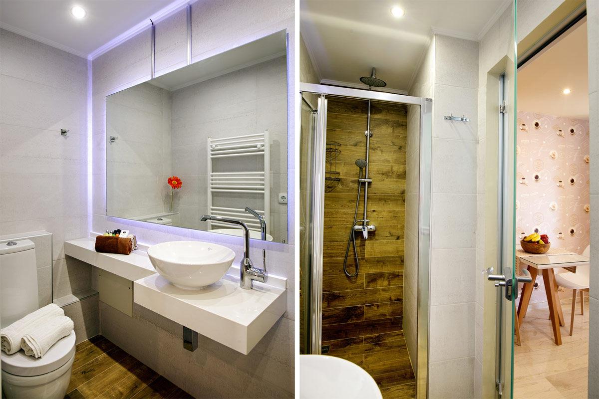 Das luxuriöse Bad / WC