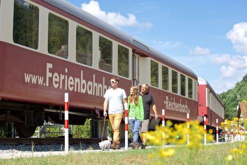 Urlaub im Eisenbahnwaggon