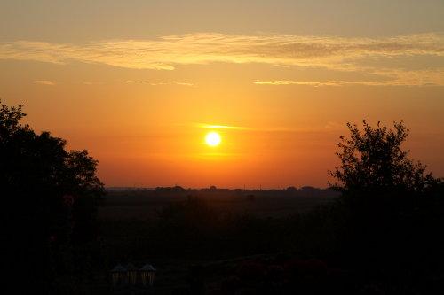 Sonnenaufgang im August - Nordwarft