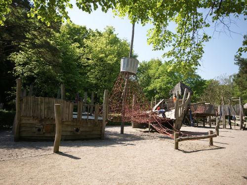 Kinderspielplatz auf der Promenade