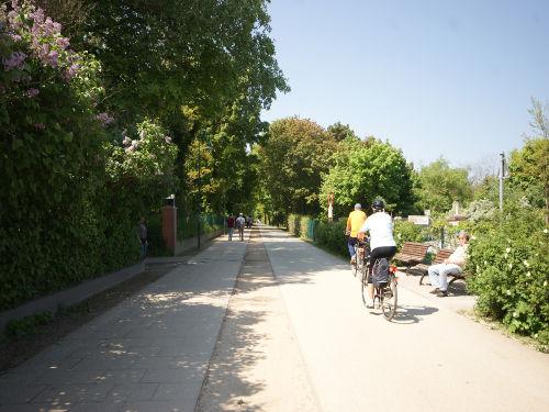 36 km langer Fahrradweg