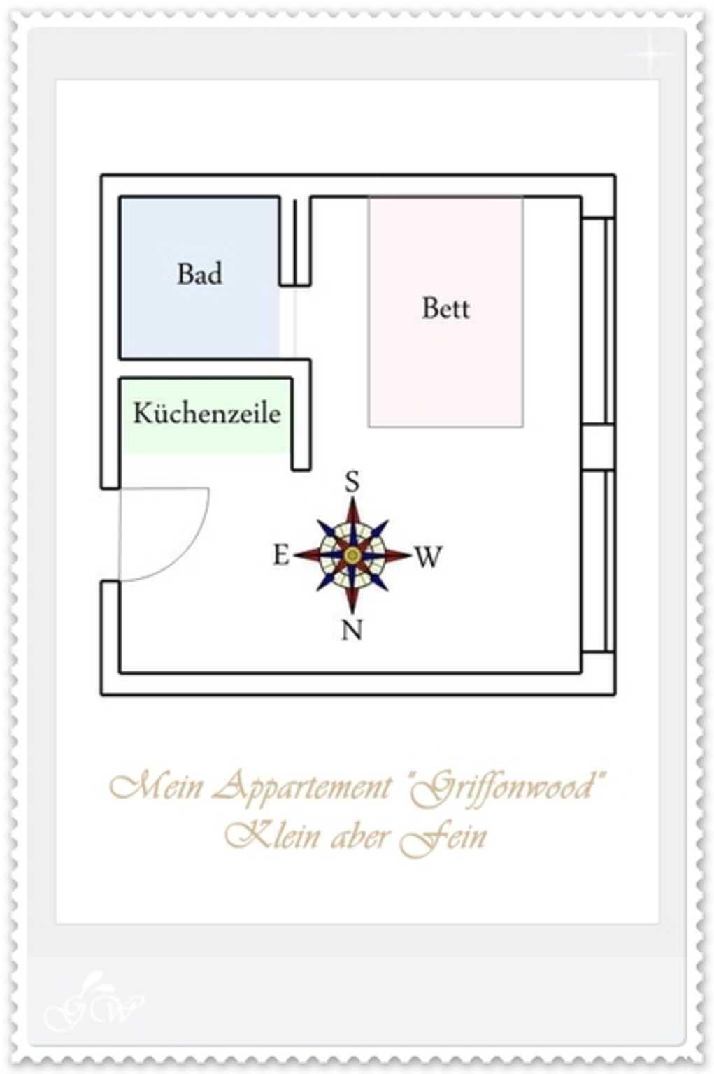 "Villa Sirene, Appartement ""Griffonwood"""
