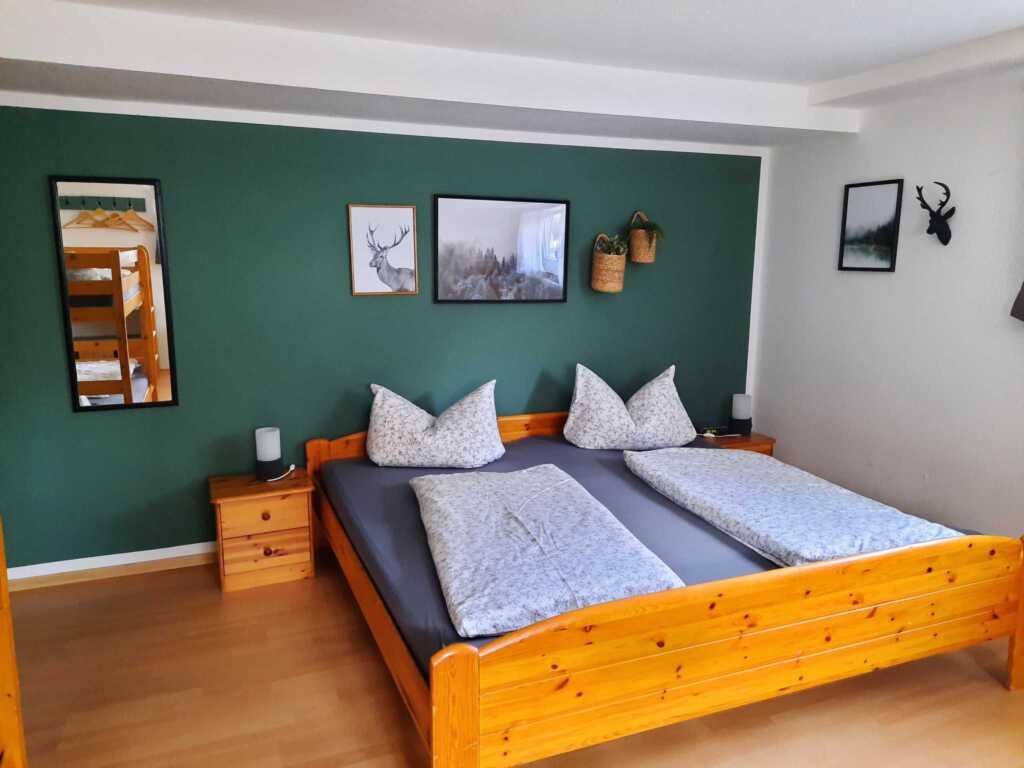 Gästehaus J. Baumann, Fünfbettzimmer mit WC und Du