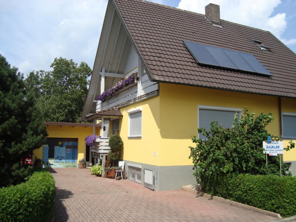 Gästehaus J. Baumann, Vierbettzimmer mit WC und Du