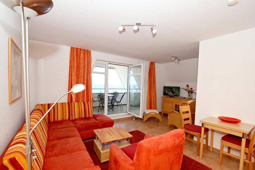 Hafenh�user Wiek, C06: 74m�, 3-Raum, 4 Pers, Balk