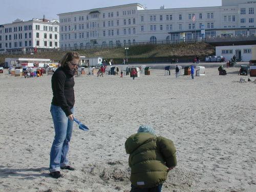 Sand so weit man schaut