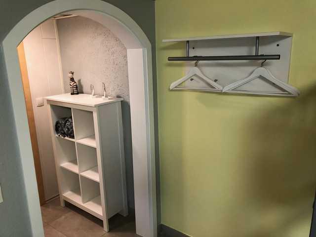 Gästehaus Diebold, Vierbettzimmer grün mit WC und
