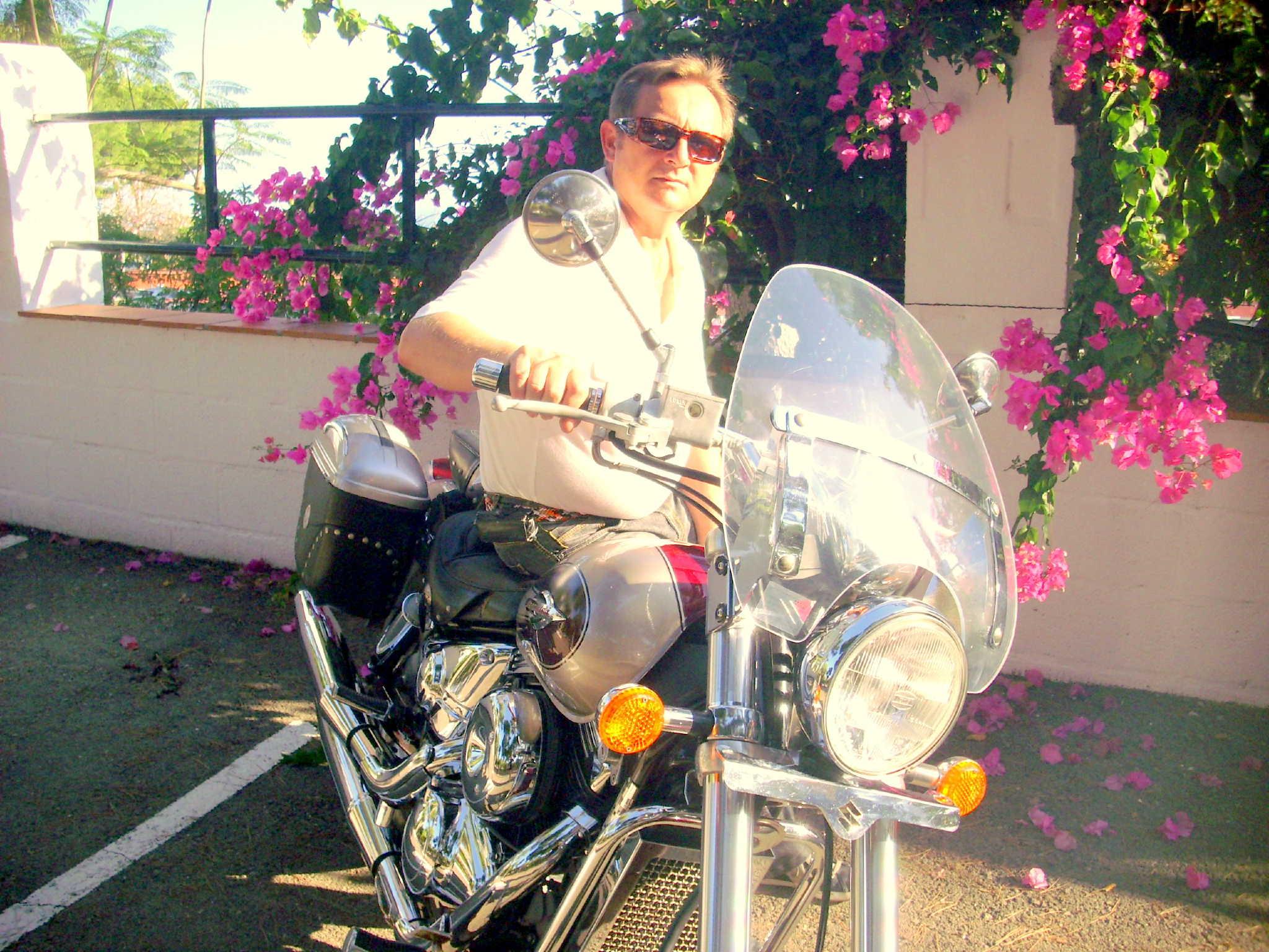 Motorradfahren, es ist eine große Freude