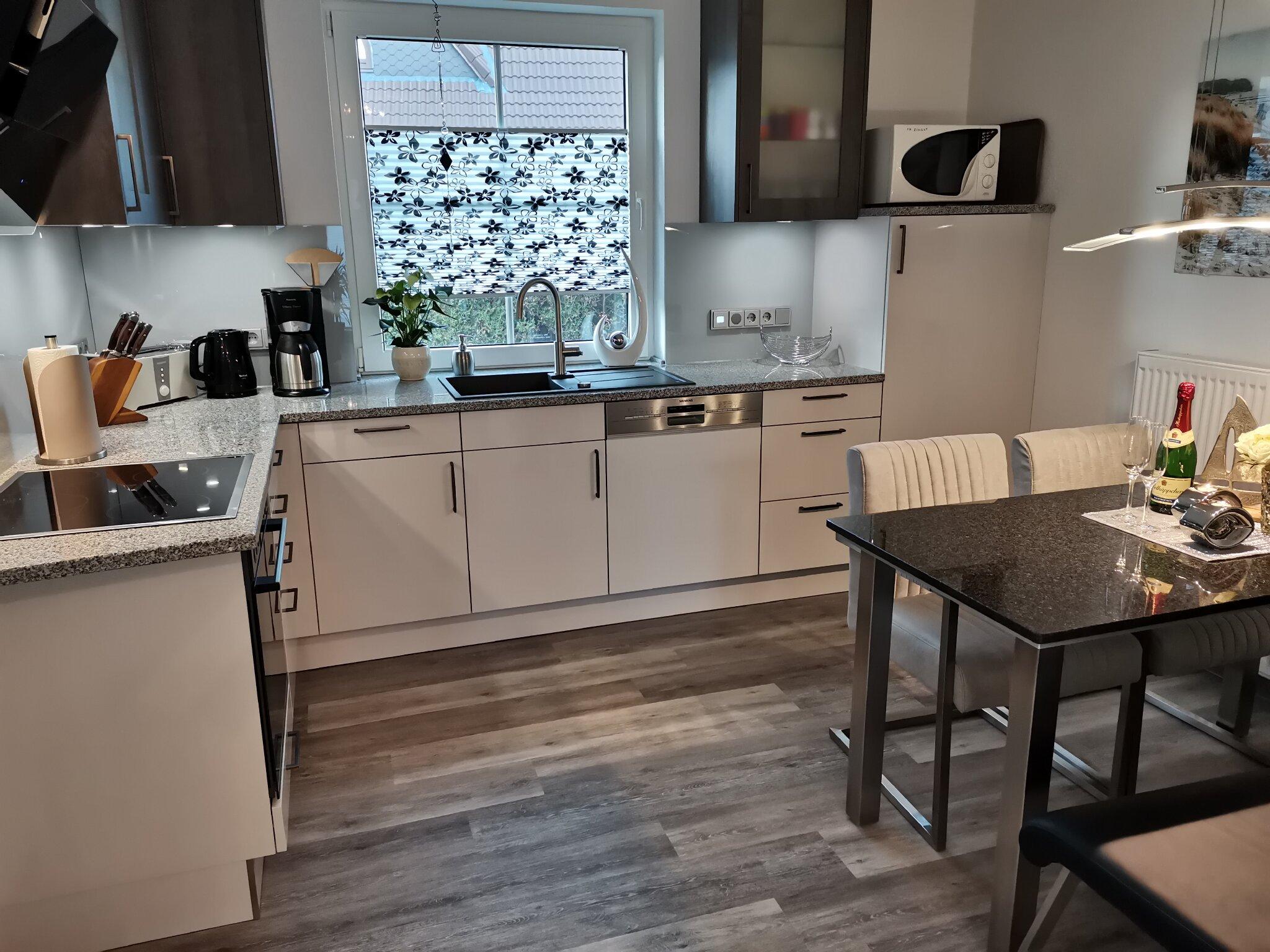 Neue Sitzecke in der Küche