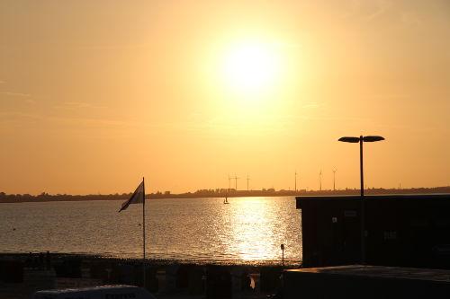 Herrliche Sonnenunterg�nge