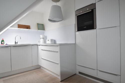 Eine offene und moderne Küche