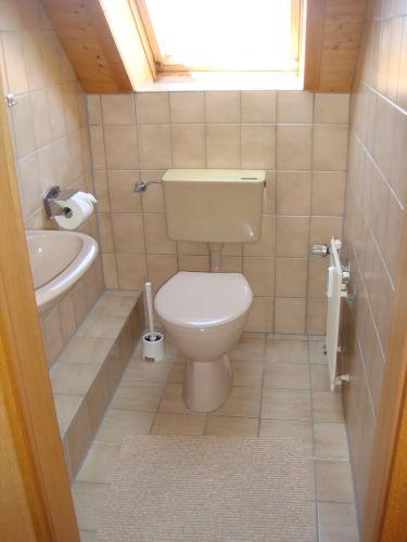 Gäste-WC im Obergeschoß