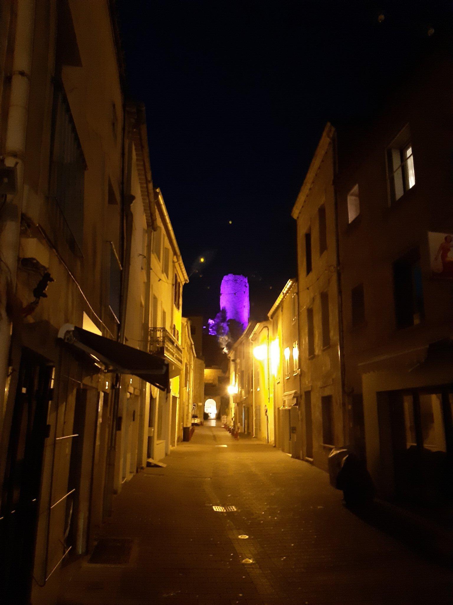 Blick auf Altstadt und Etang