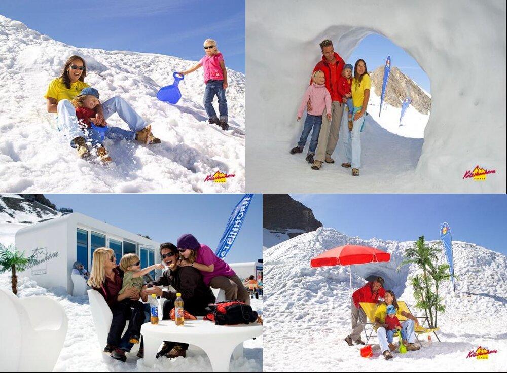 Schnee- und Eiserlebniswelt im Sommer