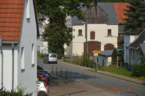 Blick vom DG auf den Gasthof z. Schmiede