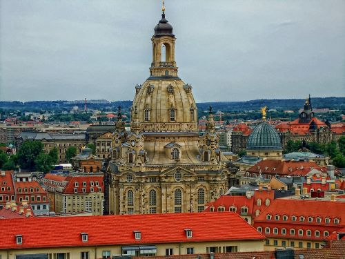 Blick auf die Frauenkirche