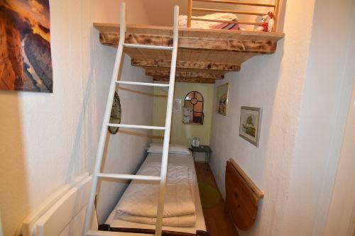 Hochbett für zusätzliche Gäste
