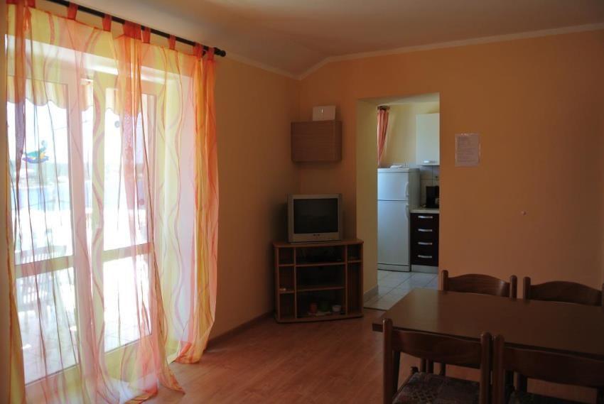 Küche im App. mit zwei Schlafzimmer