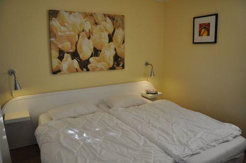 Schlafzimmer im EG mit Doppelbett