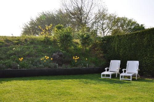Der eingezäunte und uneinsehbare Garten