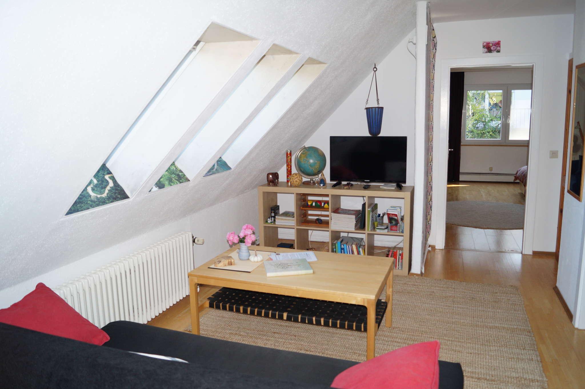 Blick Mittelzimmer in S�dzimmer