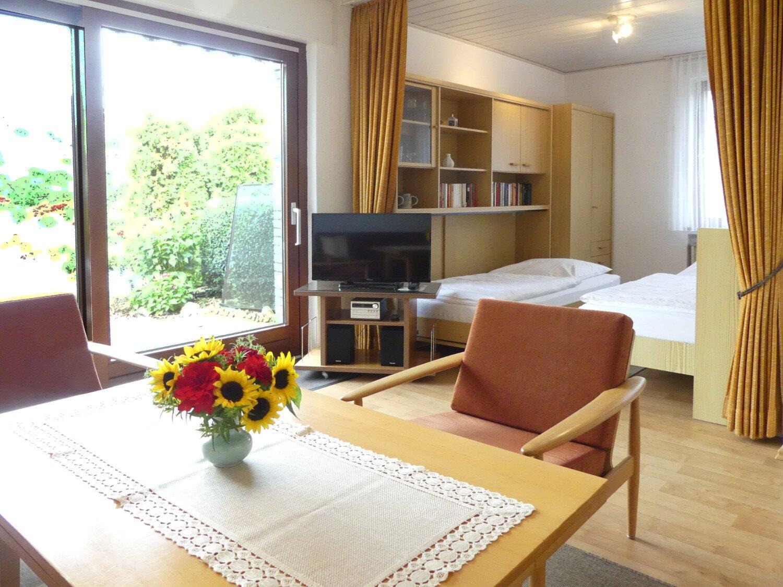 Wohnzimmer - Ferienwohnung-R-Wojahn