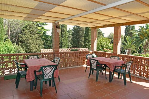 Terrasse Appartement Rom & Suvereto