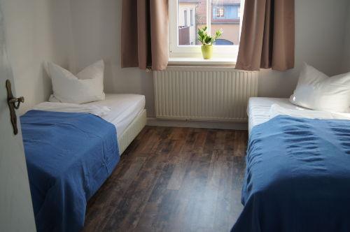 Blick ins 2. Schlafzimmer - ab 3 Personen