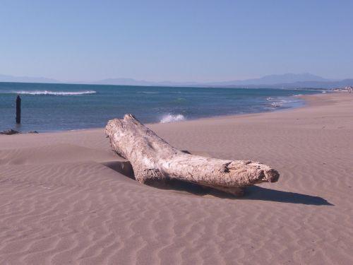Unendlich weite Strandabschnitte