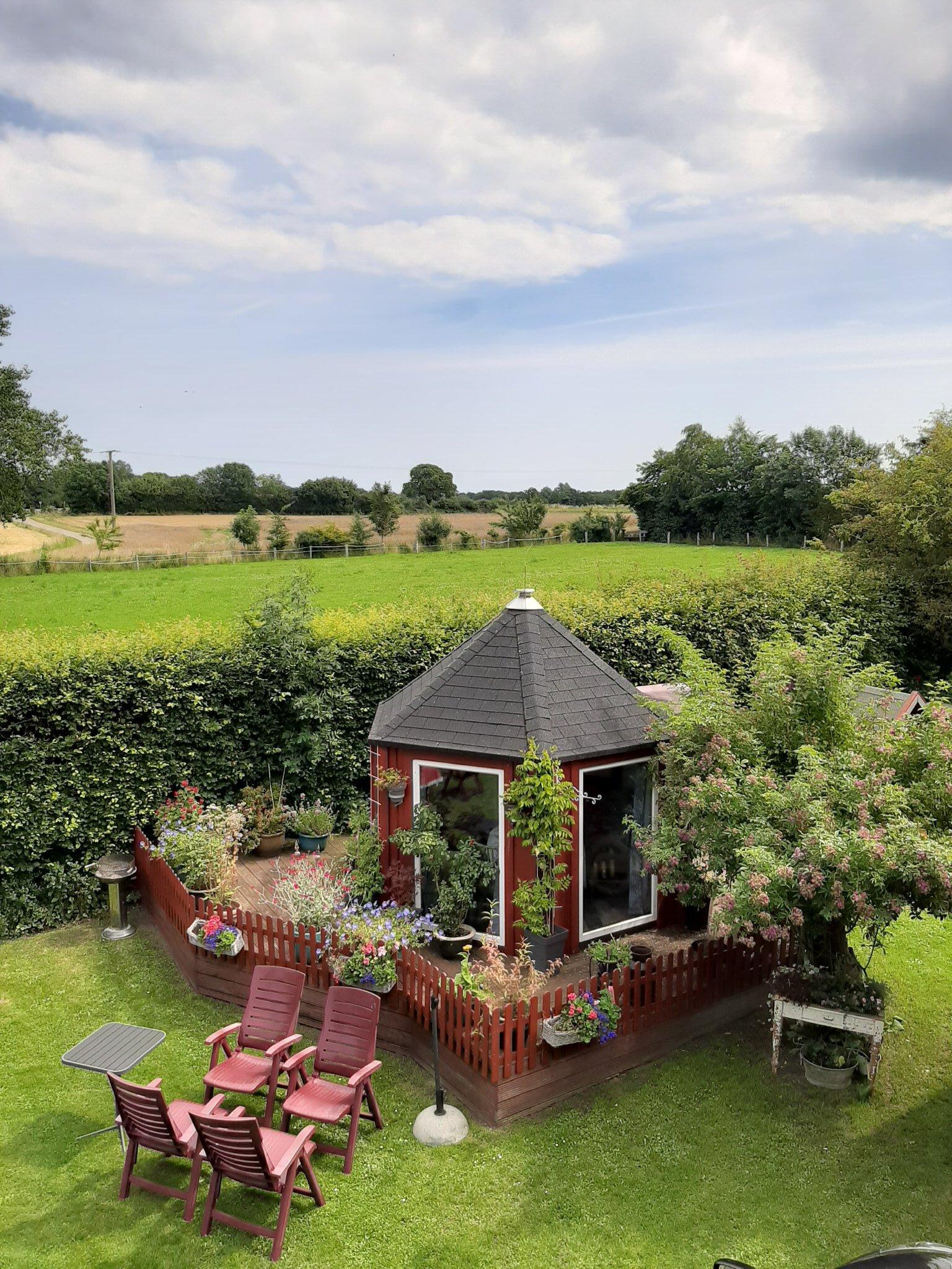Der idyllische Garten