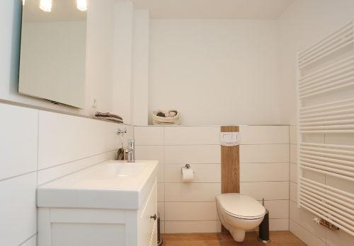Badezimmer klein im UG