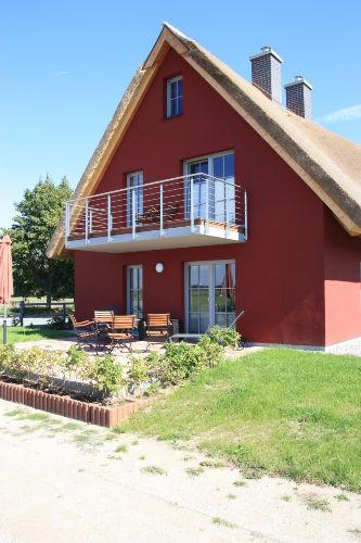 Balkon und Terrasse Ferienhaus Hofblick
