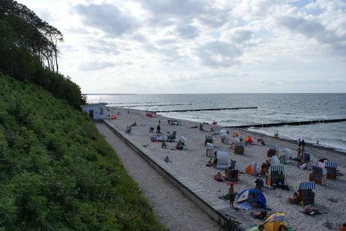 Ostsee-Strand (ca. 250 m entfernt)