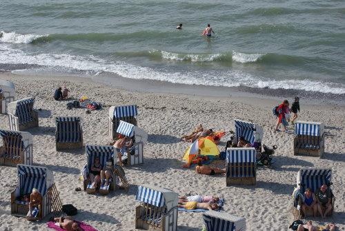 Sommer-Strand Nienhagen