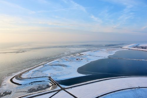 Büsum im Winter