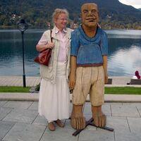 Vermieter: Namensgeberin des Hauses Irmgard Maria