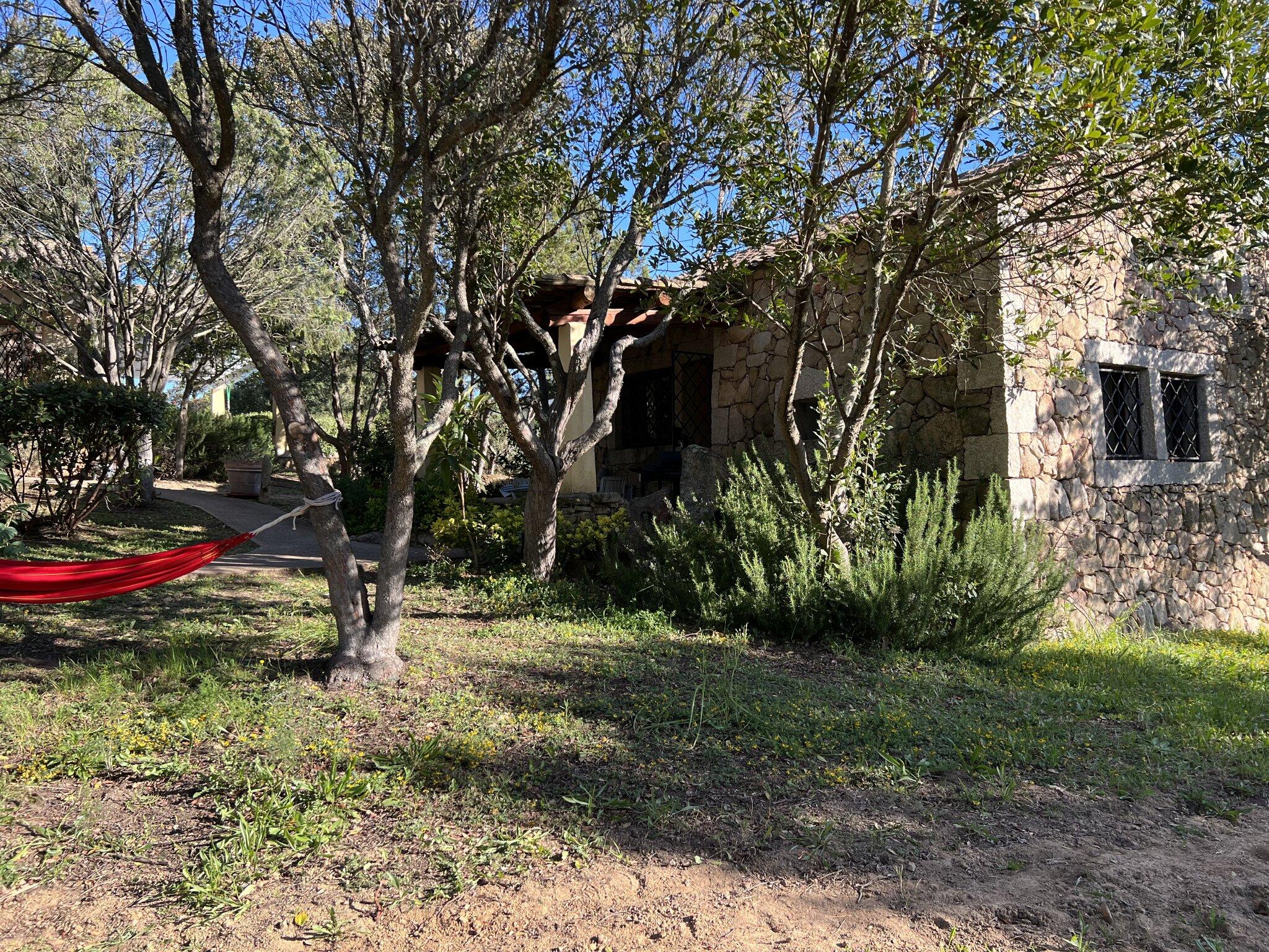 Casa Azzurra und Casa Rosmarino vom Heli