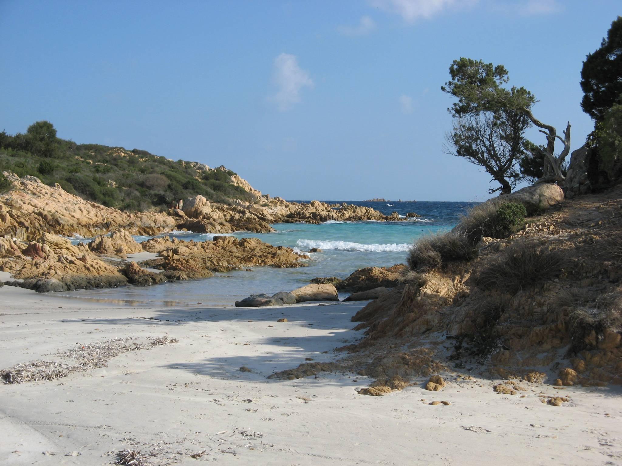 Kirchplatz mit Oleanderbäumen in San Pan