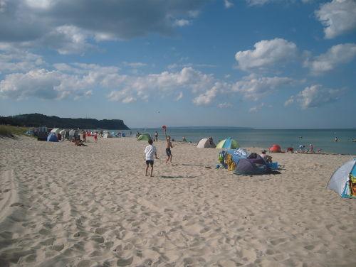Feinsandiger Strand von Baabe